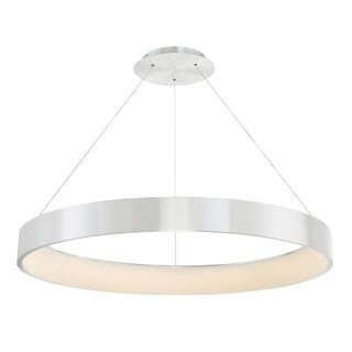 """WAC Lighting PD-33743 Corso Single Light 43"""" Wide Integrated LED Chandelier"""