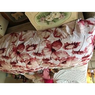 Amraupur Overseas Florentina 8-piece Printed Reversible Bed in Bag Set