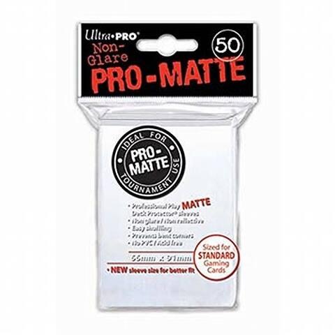 Ultra Pro Pro-Matte White Deck Protector