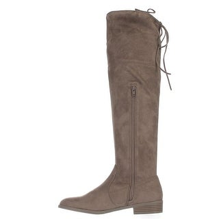 INC International Concepts Womens Imannie Closed Toe Over Knee Fashion Boots