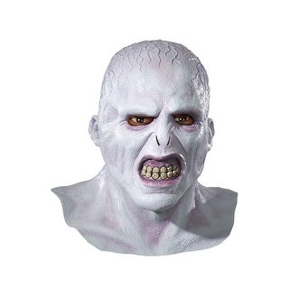 Rubies Voldemort Deluxe Adult Latex Mask - White