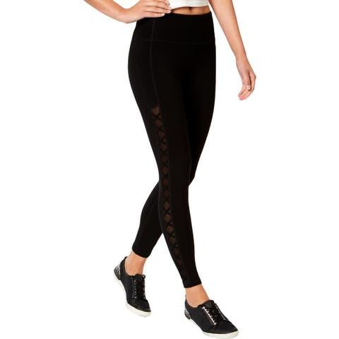 Calvin Klein Performance Womens Athletic Leggings Fitness High Waist - L