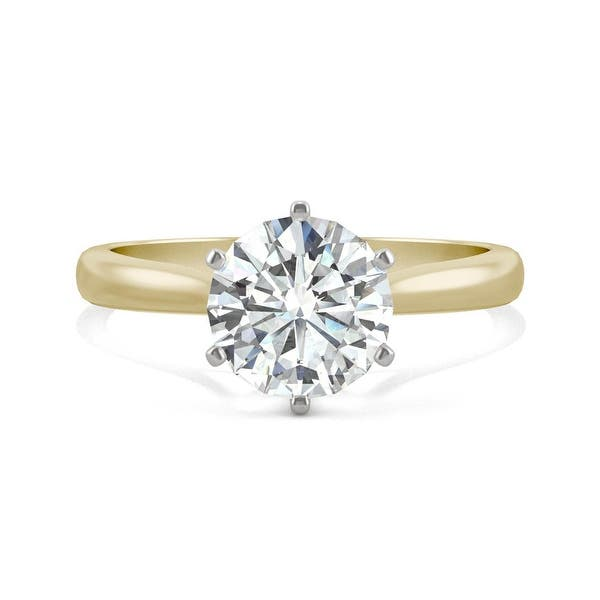 Details about  /5 Ct Moissanite Solitaire Men/'s Engagement Ring 14Kt White Gold Over Silver HY-2