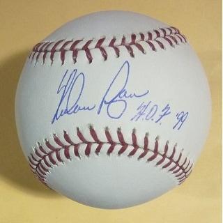 Nolan Ryan Autographed Texas Rangers OML Baseball 5714 Ks