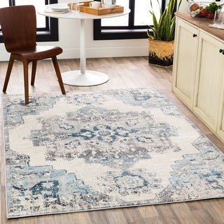 Link to Fonda Distressed Traditional Area Rug Similar Items in Rugs