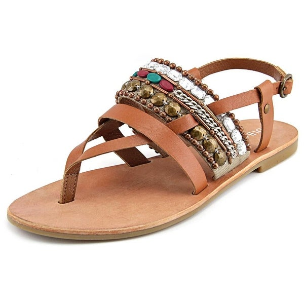Diba True Har Low Open-Toe Leather Slingback Sandal
