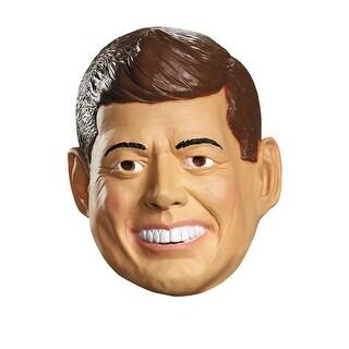 Deluxe President John F. Kennedy Latex Costume Mask