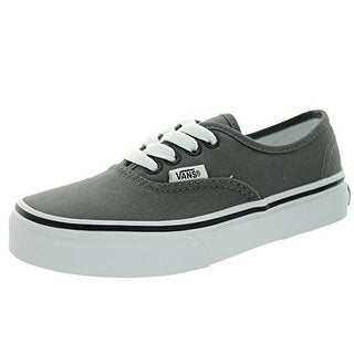 Vans Kids Uy Authentic, Pewter/Blk, 3