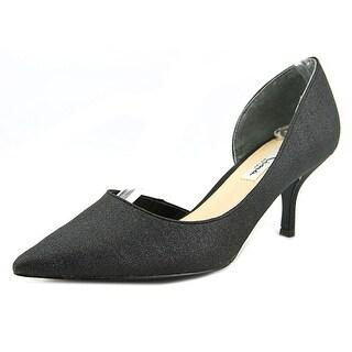 Nina Brynlee Pointed Toe Canvas Heels