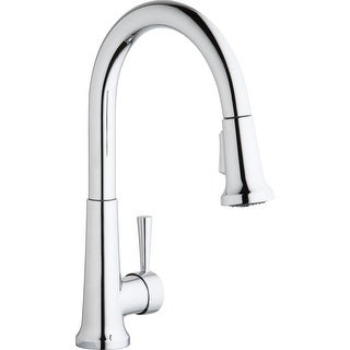 Elkay LK6000  Everyday 1.5/2.2 GPM Deck Mounted Pull Out Kitchen Faucet with Escutcheon