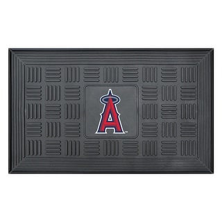 Los Angeles Angels Medallion Door Mat