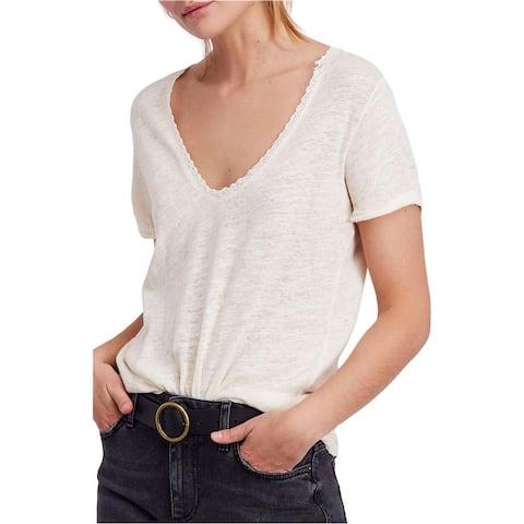 Free People Womens Saturday Basic T-Shirt