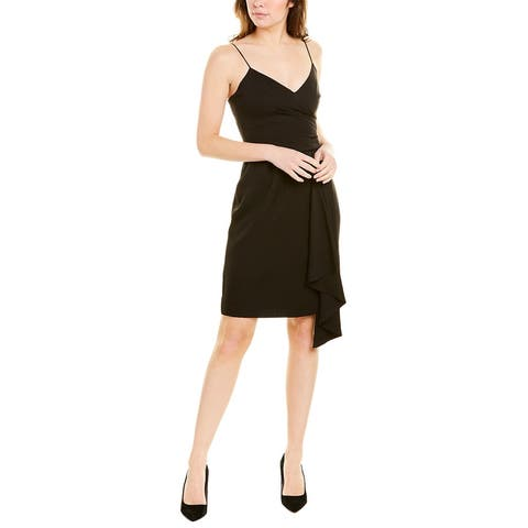 Milly Cindy Silk-Blend Sheath Dress