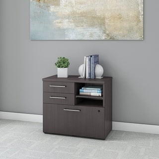 400 Series 30W Lateral File Cabinet with Shelves by Bush Business Furniture