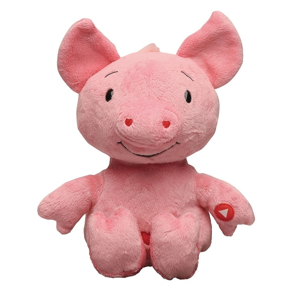 "Rockin' Cu-pig - Electric Singing Plush Stuffed Animal - 10"" High Cupid Pig"