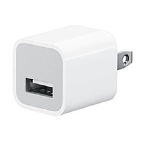 Apple MD810LL/A 5 Watts USB Power Adapter for All iPhone and (Refurbished)