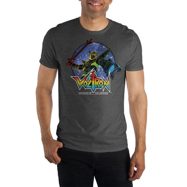 dd20e07f4 Shop Voltron Defender Of The Universe Mens T-Shirt - Free Shipping On  Orders Over $45 - Overstock.com - 23527164