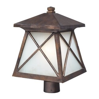 Landmark Lighting 64006-1 Single Up Down Lighting Outdoor Post Light from the Spencer Collection