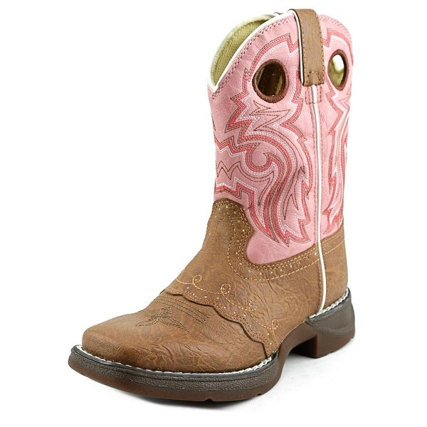 Durango Lil' Flirt Round Toe Synthetic Western Boot