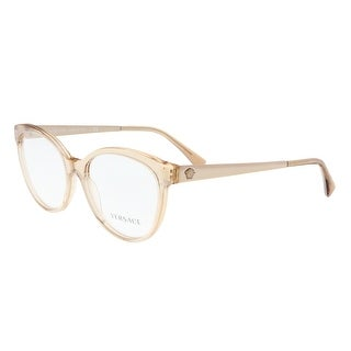 Versace VE3237 5215 Transparent Brown Cateye Phantos Optical Frames - transparent brown - 54-17-140