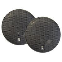 "Poly-Planar MA8505B 5"" 3-Way Titanium Series Marine Speakers - (Pair) Black"