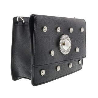 Versace EE1VQBBR6 E899 Black Crossbody Bag - 9-6-3