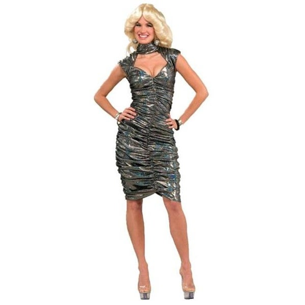 Shop Morris Costumes FM62863 Disco Queen Adult Ml 8-12 - Free Shipping On  Orders Over  45 - Overstock - 22944970 9e58447b0082