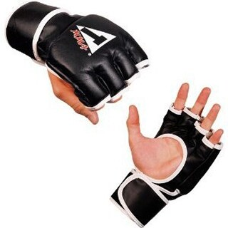 Title Classic MMA Synthetic Pro Competition Gloves - Black