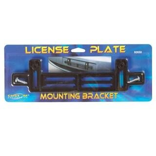 Custom Accessories 92650 License Plate Mounting Bracket, Black