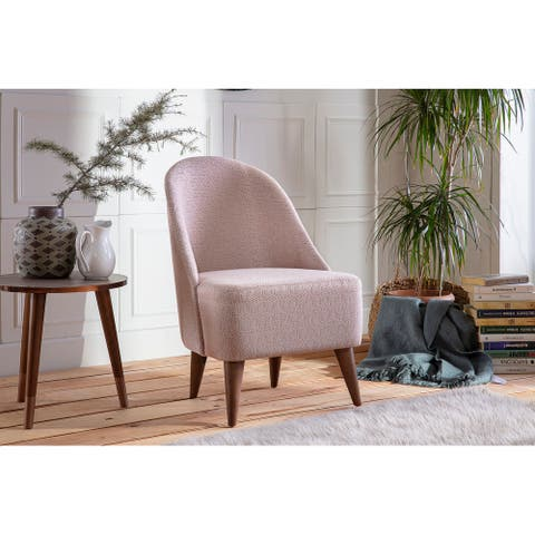 Bergama Home Office Accent Chair Mid-century Modern