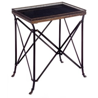 IMAX Home 12003 Rectangular Black Accent Table