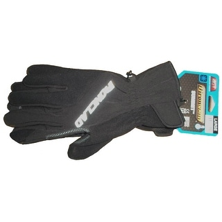 Ironclad SMB2-04-L Summit Fleece Work Glove, Large, Black & Gray