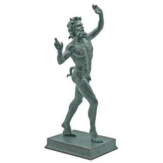 Design Toscano Dancing Faunus of Pompeii: Large