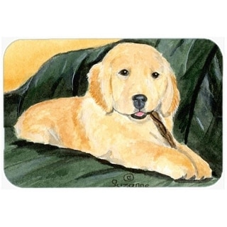 Carolines Treasures SS8761CMT 20 x 30 in. Golden Retriever Kitchen Or Bath Mat