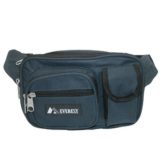 Everest Fabric Multiple Pockets Waist Pack
