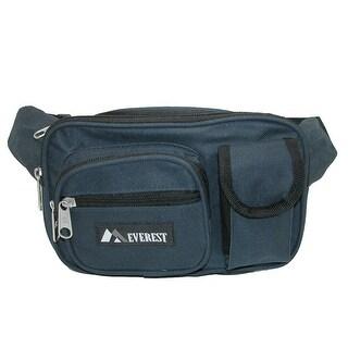 Everest Fabric Multiple Pockets Waist Pack
