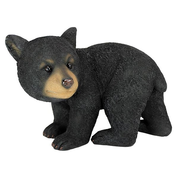 Design Toscano Roly-Poly Bear Cub Statues: Walking Bear