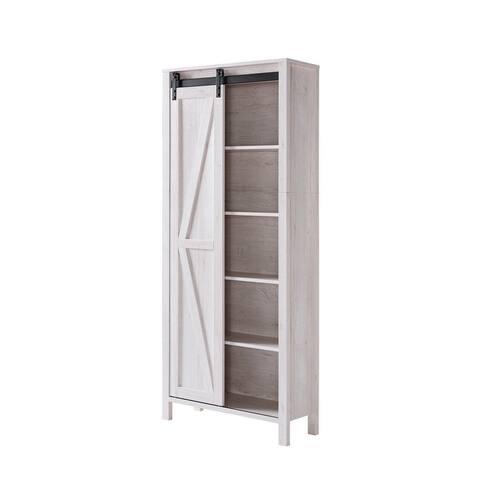 Furniture of America Jessica Farmhouse 5-shelf Bookcase