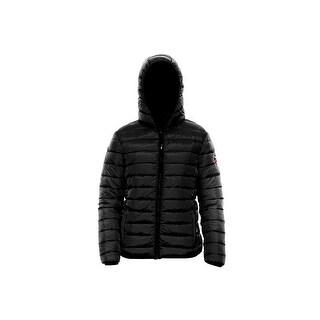Bearpaw Jacket Womens Fargo Zipper Closure Pockets Fixed Hood 110W
