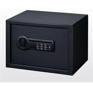 Stack-On Ps-1514 0.60 Cu. Ft. All Steel Personal Safe With Electronic Lock, Black
