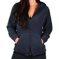 Ladies Vantage Premium Microfiber Full-Zip Hoodie