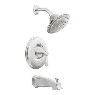 Moen TS2213 Posi-Temp Pressure Balanced Tub and Shower Trim with 2.5 GPM Shower Head and Tub Spout from the Rothbury Collection