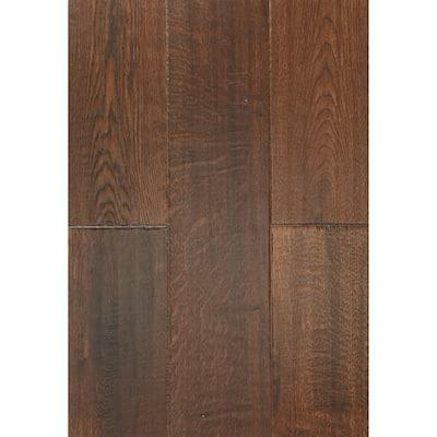 East West Furniture Interlocking Wood Floor Tiles - Engineered Hardwood Flooring for Indoor, (Finish Option)