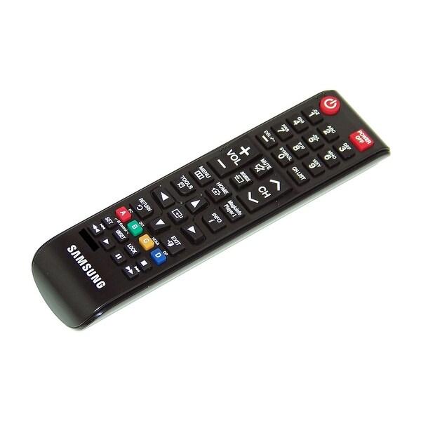 OEM Samsung Remote Control Originally Shipped With: LH32MLEPLSC/GO, LH75OMDPKBC/GO, LH46OHDPKBC/GO, LH55OMDPKBC/GO