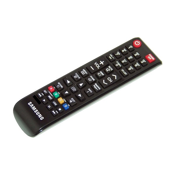 OEM Samsung Remote Control Originally Shipped With: OM75D, OM75-D, QM105D, QM105-D, QM85D, QM85-D