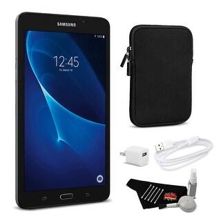 """Samsung 7.0"""" Tab A 8GB Tablet (Wi-Fi Only) Bundle"""