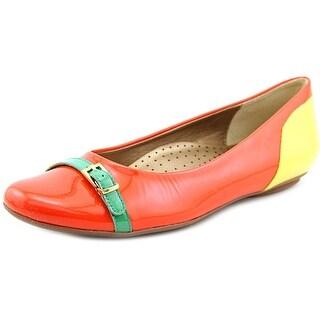 Vaneli Siesta Women Round Toe Synthetic Flats