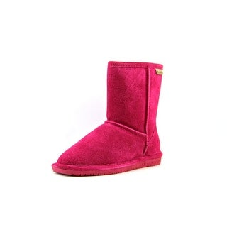 Bearpaw Emma Round Toe Suede Snow Boot