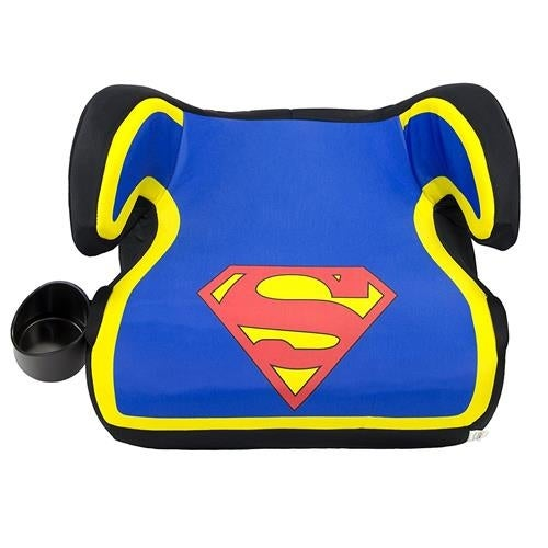 DC Comics KidsEmbrace Superman Belt Positioning Backless Booster Car Seat