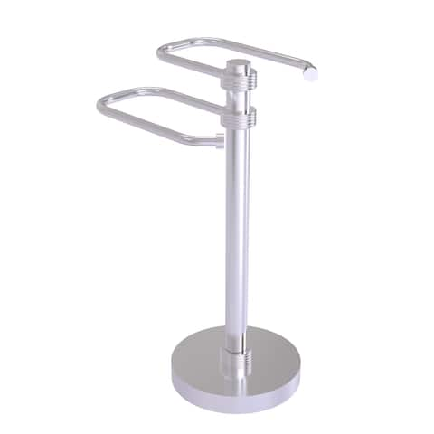 Allied Brass Free Standing Two Arm Guest Towel Holder
